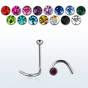 Surgical steel nose screw