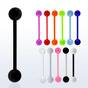 Acrylic UV tongue barbell